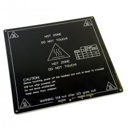 Piatto riscaldato - Improved version printing black MK3 aluminum substrate heat bed