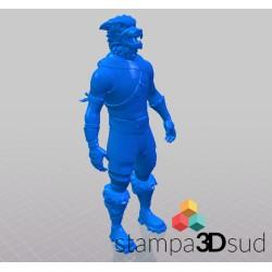 Love Ranger - Fortnite - 3D  Materiale: pla   Altezza circa 12 cm