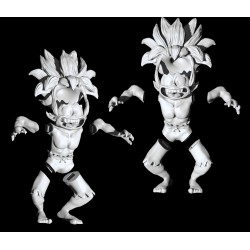TOMBI game character (ps1) FILE STL