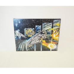 Quadro Star Wars Millenium Falcon 20x30 cm