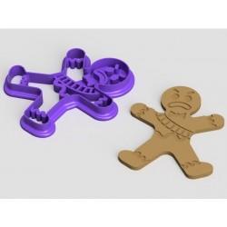 Fortnite Formina per biscotti - Cookie Cutter Gingerbread Man