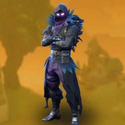 Raven - Fortnite Battle Royale 3D Action figure 12 cm
