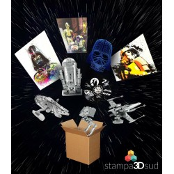 StarWars Mystery Box SMALL, orologio, puzzle, lampada, quadro, gadget