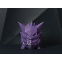 Gengar Low-poly Pokémon - Action figure Pokemon 5 cm- 3D