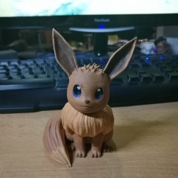 Eevee Pokemon- Action Figure Pokémon - Pokemon 3D - 8cm