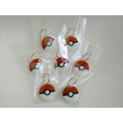 Pokeball - Portachiavi, spilla dei Pokémon - IDEA REGALO stampa 3D - 5-6 cm