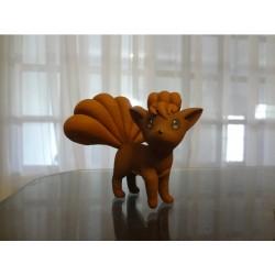 Vulpix Pokemon - Action Figure Pokémon - 3D - 15.5 cm