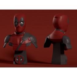 Deadpool Busto - Action figure Universo Marvel Deadpool 15cm