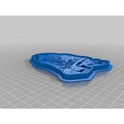 Formina biscotti STAR WARS - 3D printed cookie cutter star wars