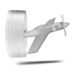 Filamento P51 POLYCARBONATE colore trasparente, diametro 1,75mm, peso 500g