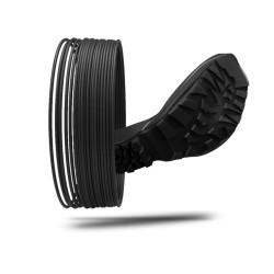 Filamento FLEXABILITY + colore 9005 black hole, diametro 1,75mm, peso 500g