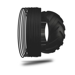 Filamento FLEXMARK 7 colore 9005 black hole, diametro 1,75mm, peso 500g
