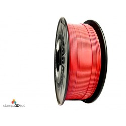 Filamento speciale TPU 60D- Alta velocità - bobina da 500 grammi - diametro 1,75 mm - Colore Rosso
