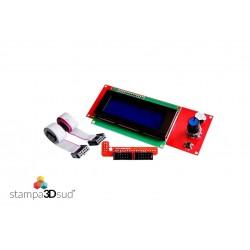 Modulo Display LCD + SD Card Reprap Mendel Prusa Ramps 1.4 Arduino Stampante 3D
